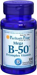 Витамины B-50 Комплекс, 100 таблеток