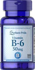 Витамин B-6 (Гидрохлорид пиридоксина) 50 мг
