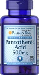 Пантотеновая кислота (В-5) 500 мг