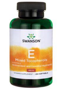 Витамин E (Смешанные токоферолы) 400 ме 250 капсул
