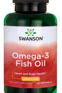 Омега-3 Рыбий жир - аромат лимона