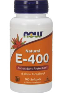Now Foods, Natural E-400, 100 мягких капсул