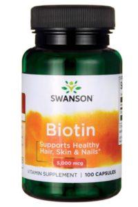 Биотин (Витамин В7) 500 мкг - 100 капсул