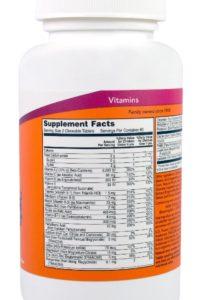 Детские витамины и минералы -120 жевательных таблеток