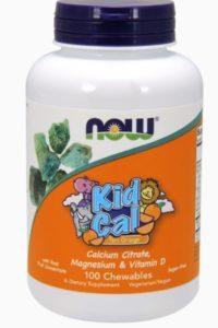 Детский Кальций, Kid Cal Chewable, 100 жевательных таблеток