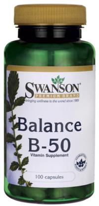 Витамины B-50 Комплекс, 100 капсул