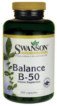 Витамины B-50 Комплекс, 250 капсул