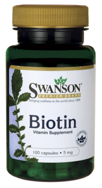 Биотин (Витамин B-7) 5 мг
